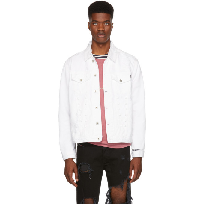 Photo: Diesel White D Hilly Denim Jacket