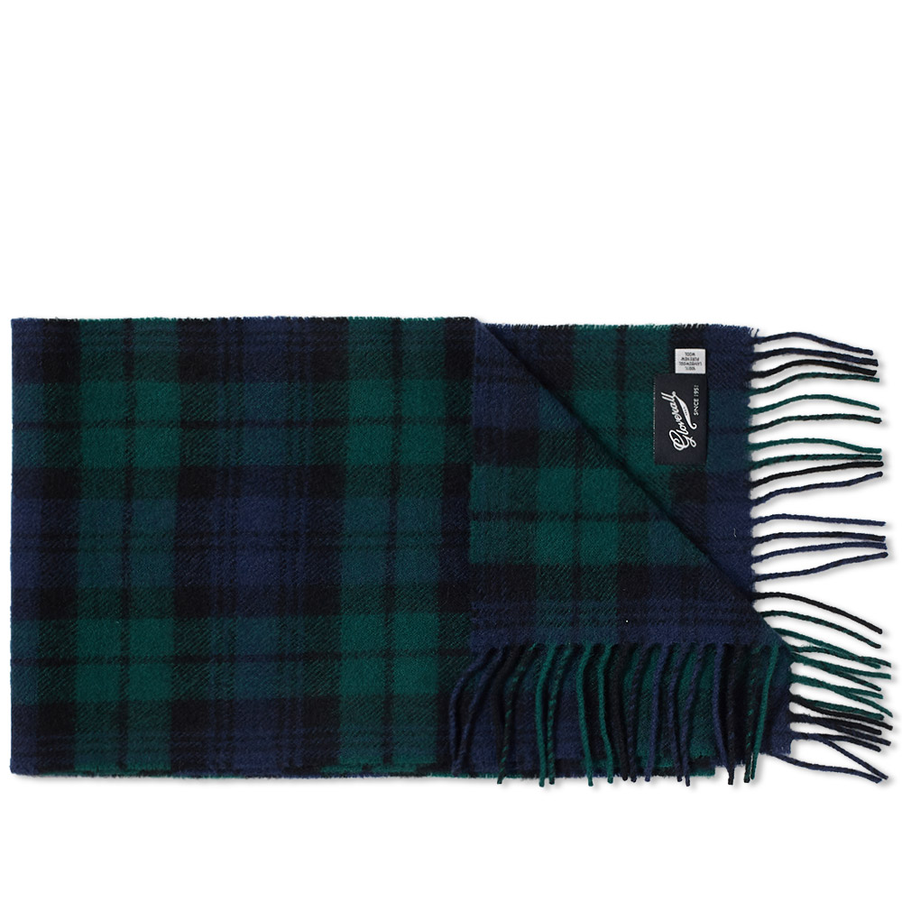 Photo: Gloverall Lambswool Tartan Scarf