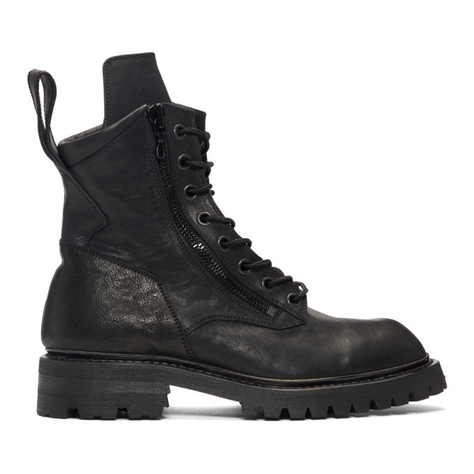 Photo: Julius Black Combat Boots