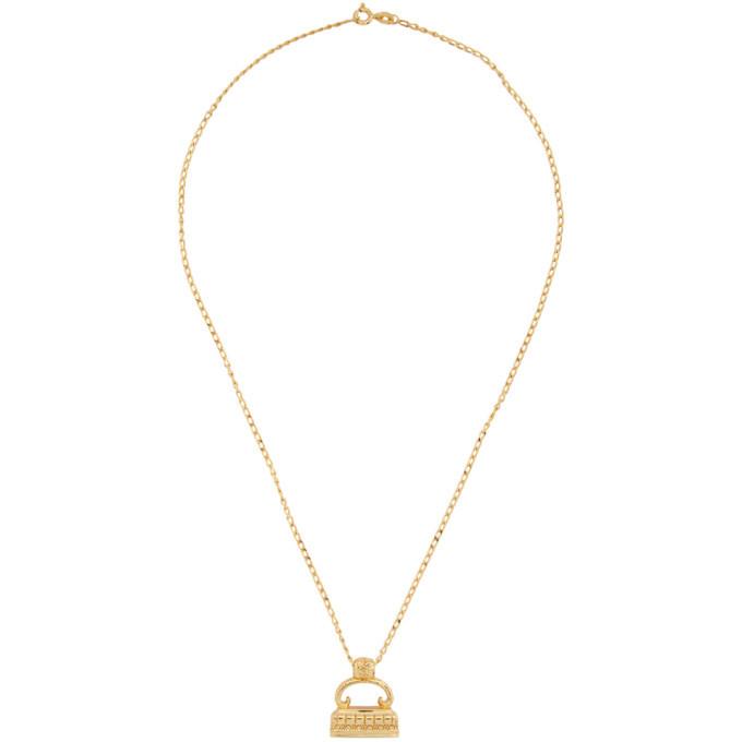 Photo: Dear Letterman Gold Bariz Pendant Necklace
