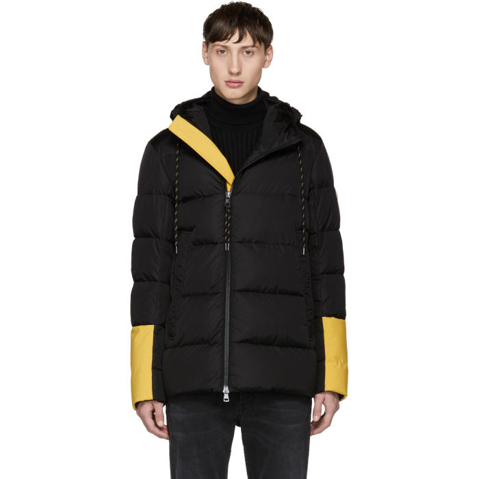 Moncler Black Down Drake Jacket