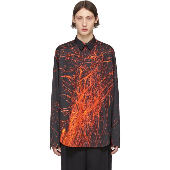Photo: Johnlawrencesullivan Black Sparks Long Sleeve Shirt
