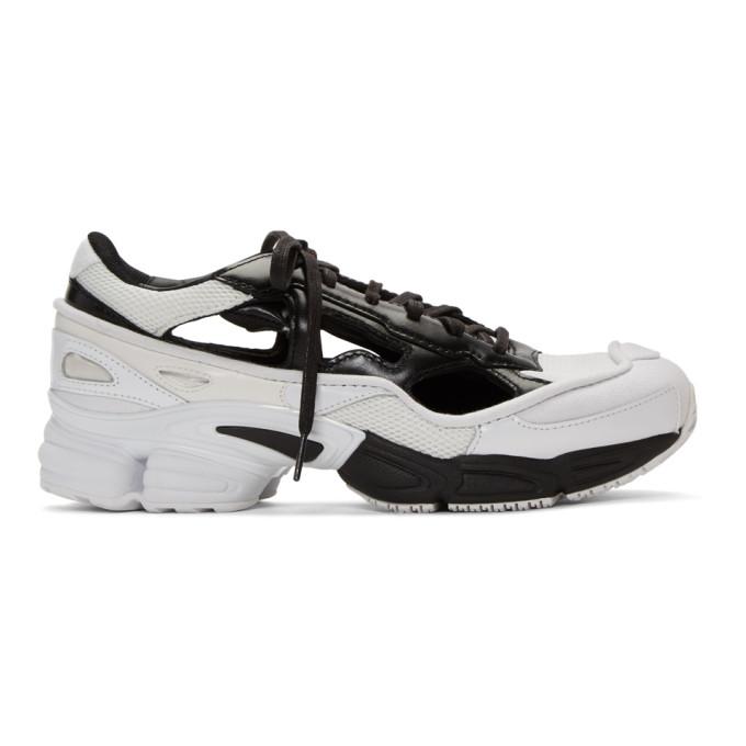 Photo: Raf Simons Black and White adidas Originals Edition Ozweego Replicant Sneakers
