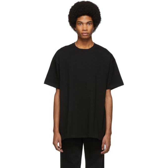 Raf Simons Black Toya Frame Big Fit T-Shirt