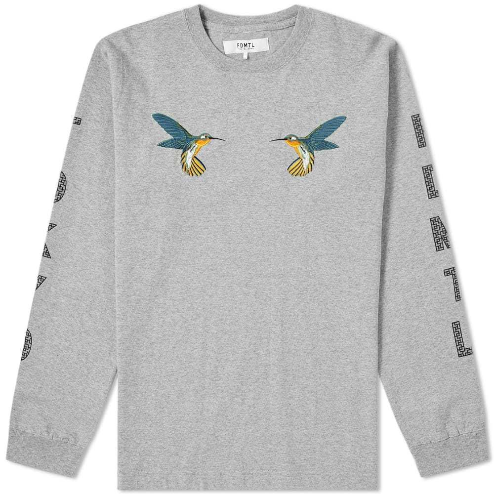 Photo: FDMTL Long Sleeve Hummingbird Tee