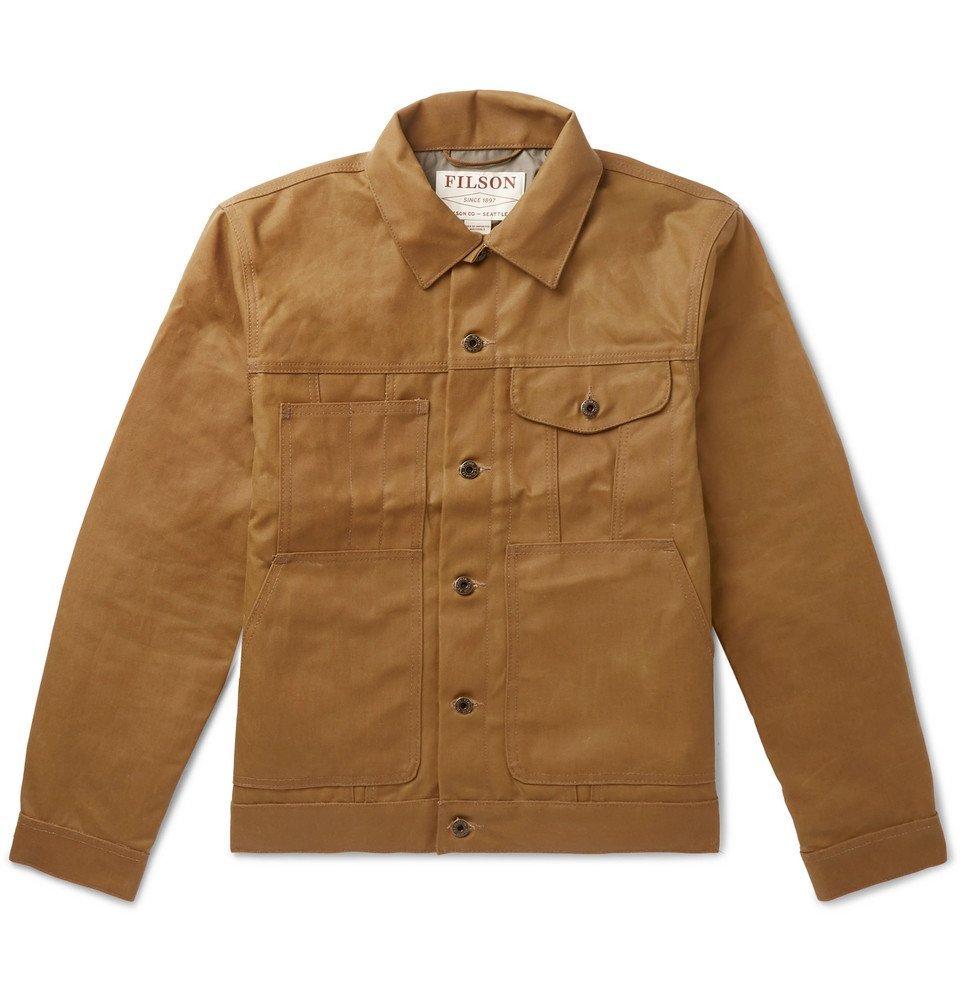 Filson - Short Lined Cruiser Waxed-Cotton Jacket - Men - Brown