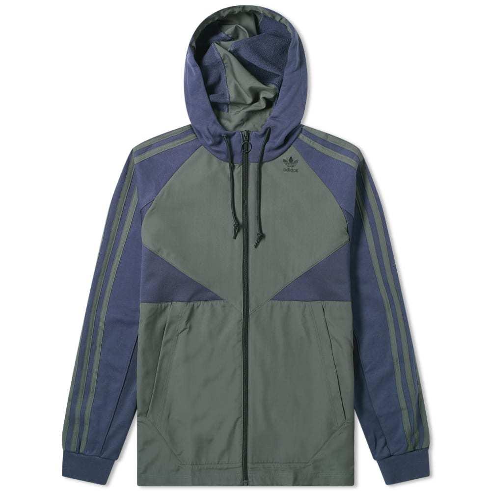 Adidas Full Zip Windbreaker Hoody