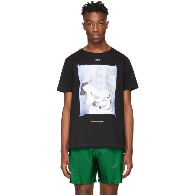 Photo: Off-White Black Dondi Square T-Shirt