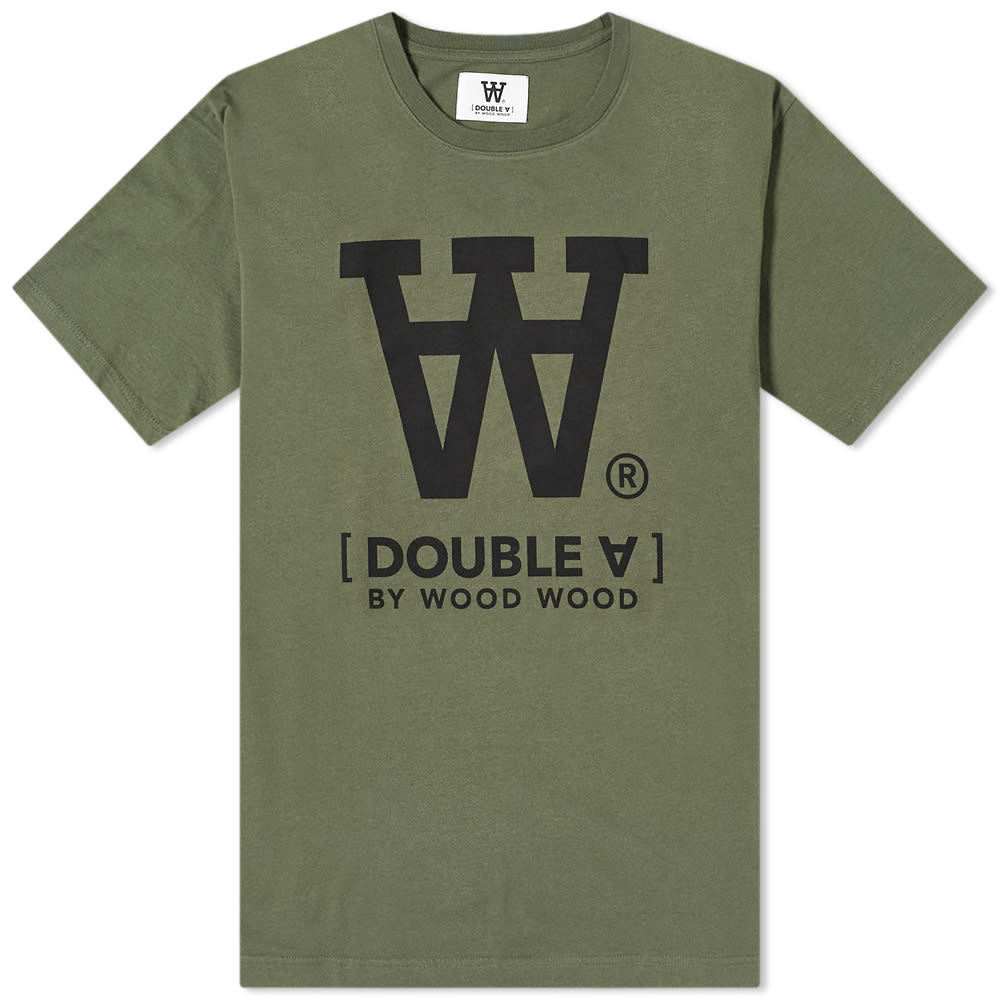 Photo: Wood Wood Ace AA Logo Tee