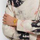 KAPITAL - Enamel, Silver-Tone and Elastic Bracelet - Yellow