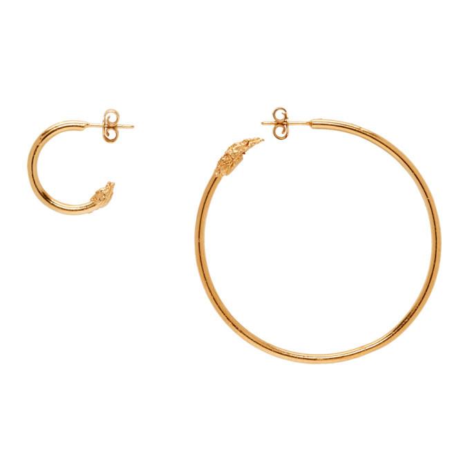 Alighieri Gold Il Leone Earrings