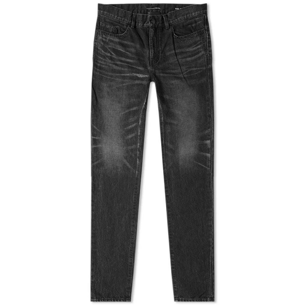 Photo: Saint Laurent Distressed Skinny Jean