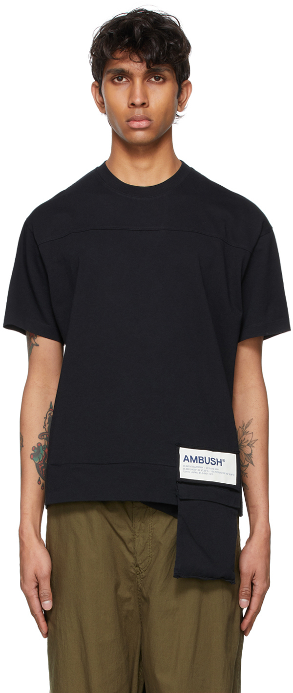 Photo: Ambush Black Packable New Waist Pocket T-Shirt
