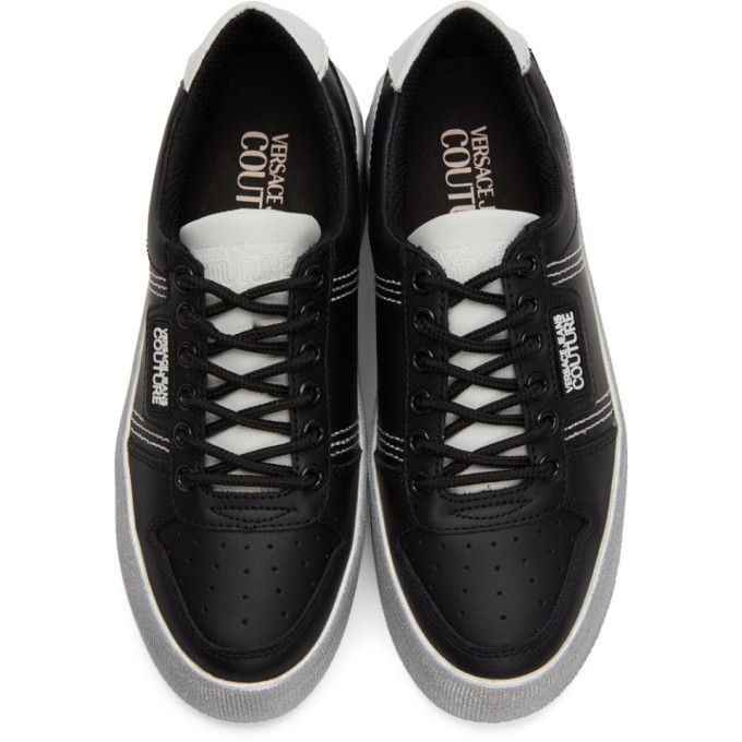 Versace Jeans Couture Black High Box Sneakers