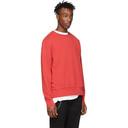Ksubi Red Seeing Lines Sweatshirt