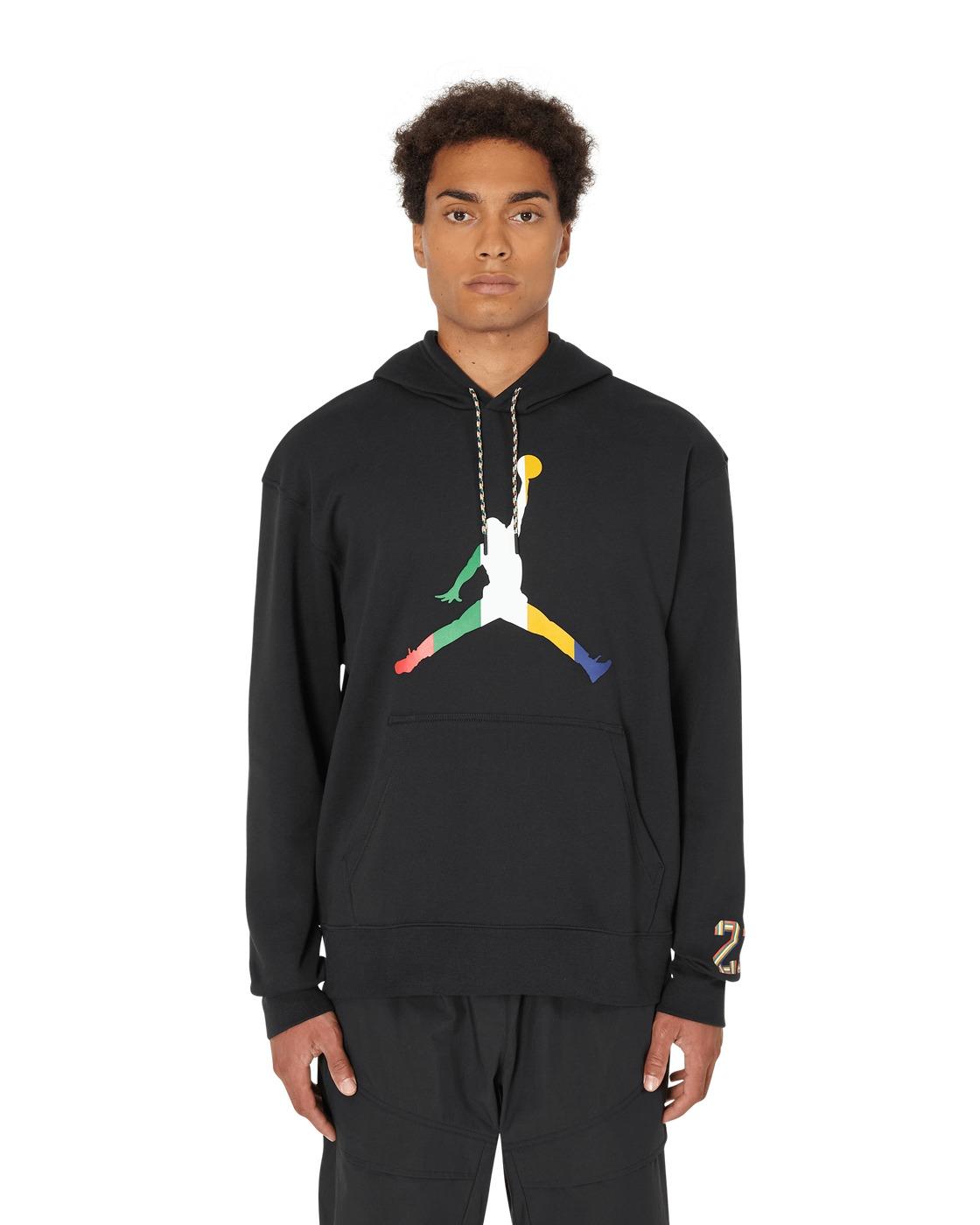 Nike Jordan Sport Dna Hooded Sweatshirt Black