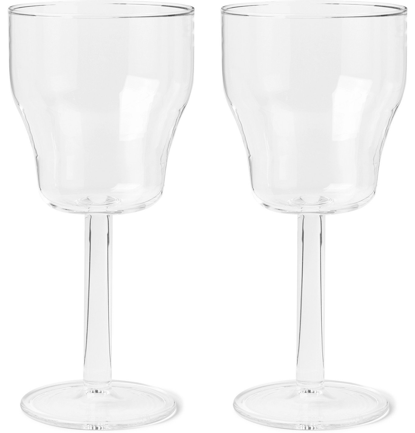 Photo: RD.LAB - Helg Set of Two Wine Glasses - Neutrals