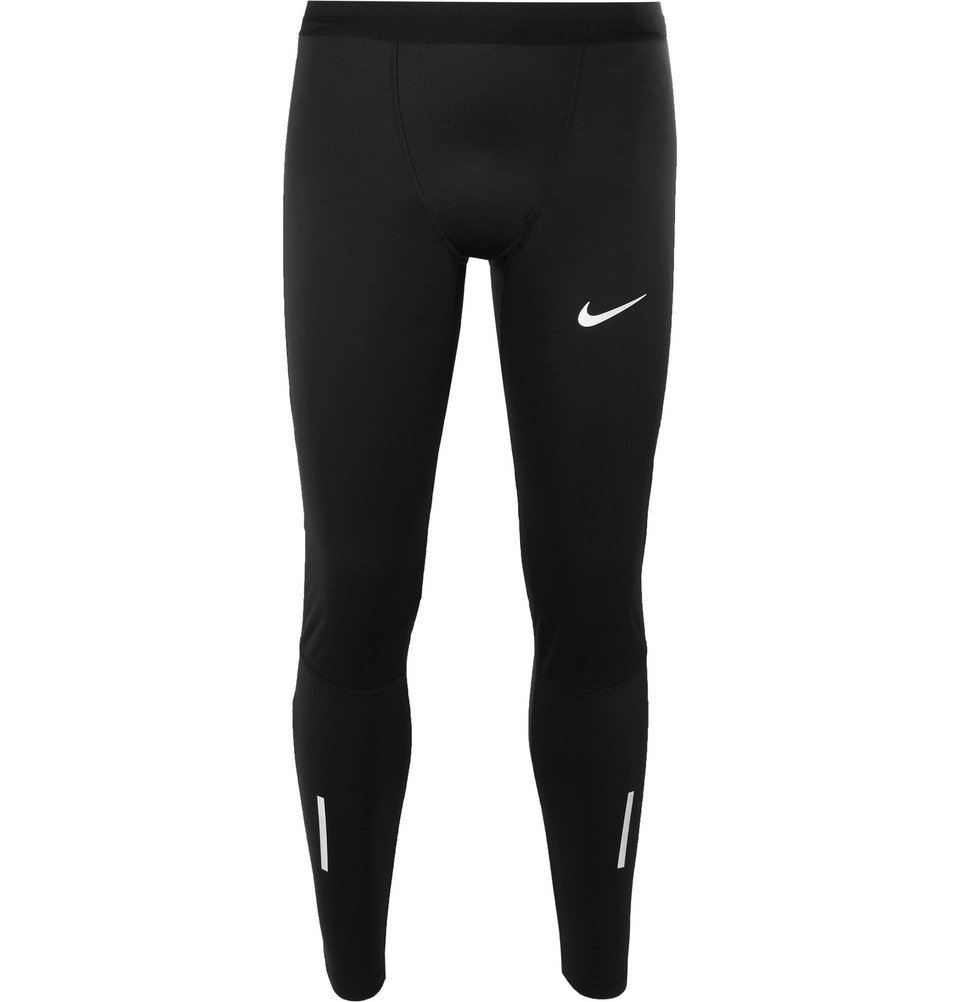 Photo: Nike Running - Tech Dri-FIT Tights - Gray