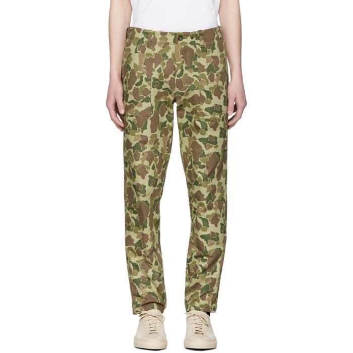 Photo: Rag and Bone Green Camo Field Trousers