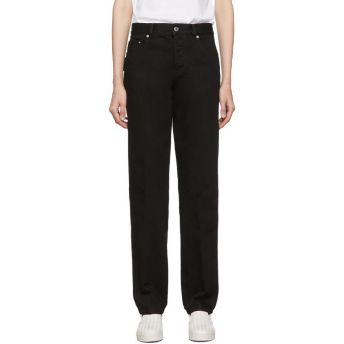 Photo: Bottega Veneta Black Utility Jeans