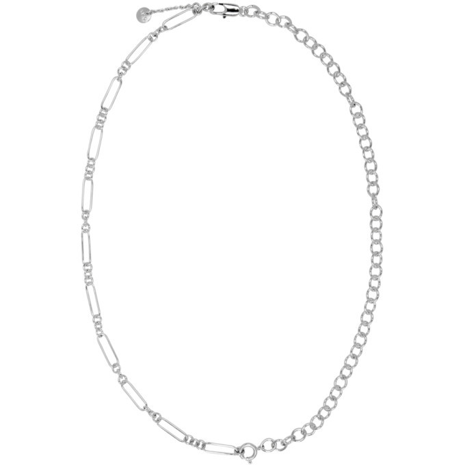 Photo: A.P.C. Silver Jules Necklace
