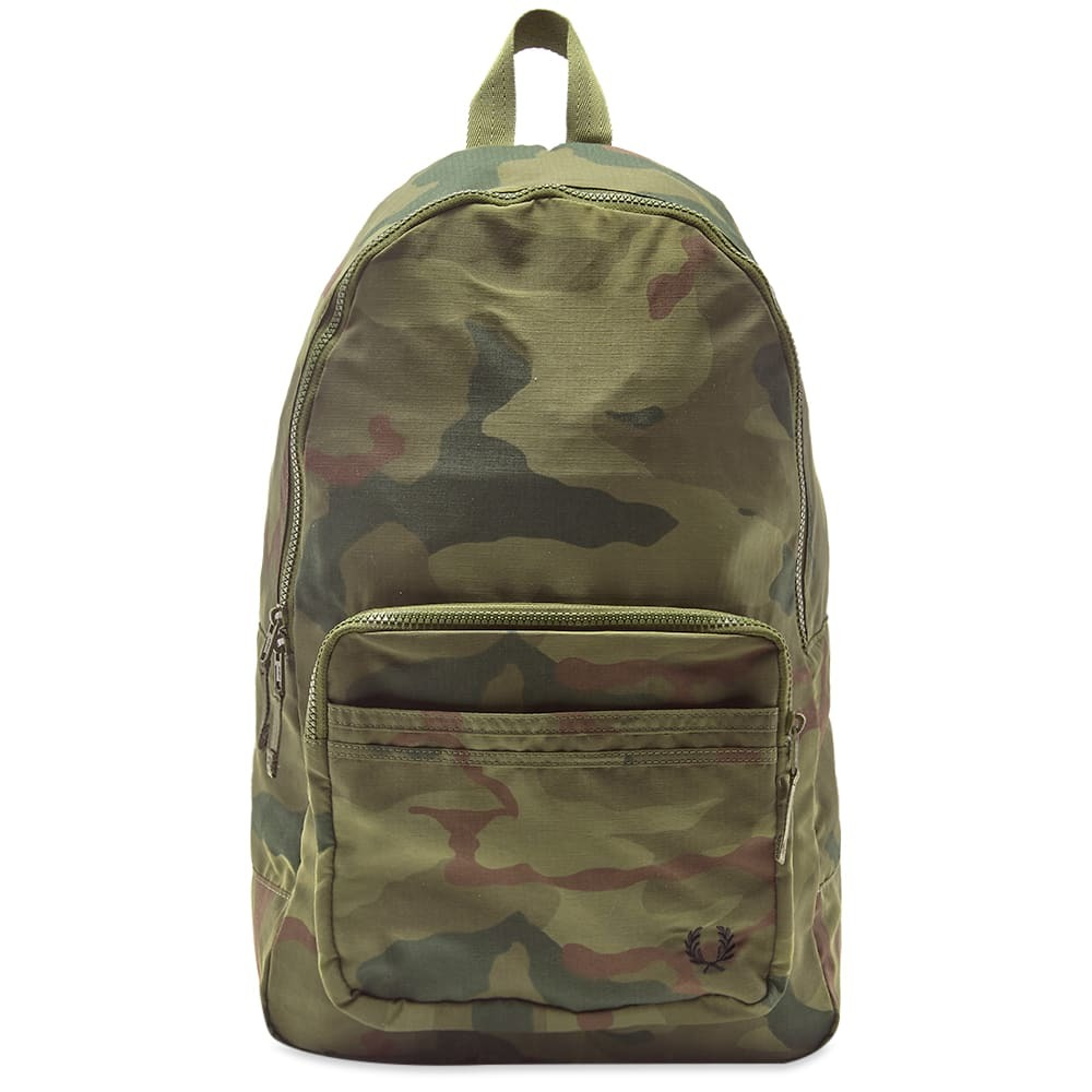 Photo: Fred Perry x Arktis Camo Backpack