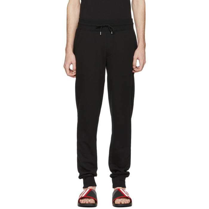 Photo: Moncler Black Lounge Pants