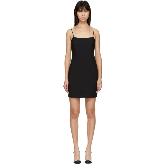 alexanderwang.t Black Wool Mini Dress
