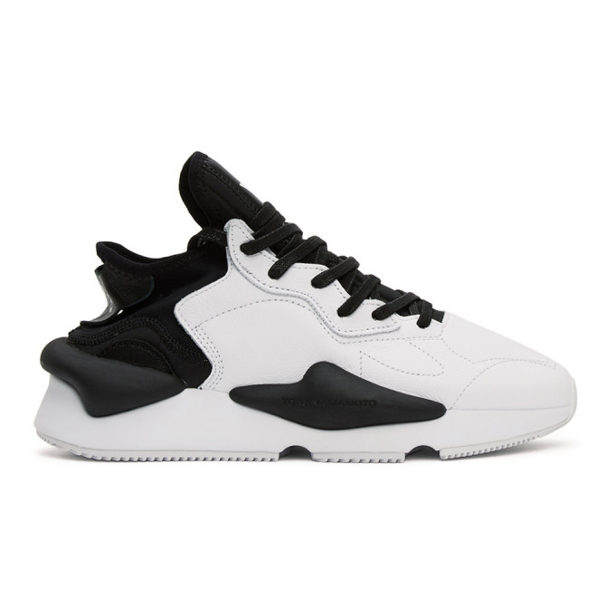 Photo: Y-3 Black and White Kaiwa Sneakers
