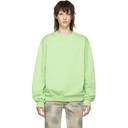 Martine Rose Green Classic Sweatshirt
