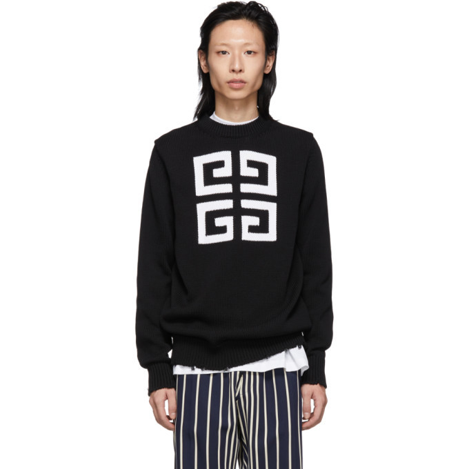 Photo: Givenchy Black 4G Sweater