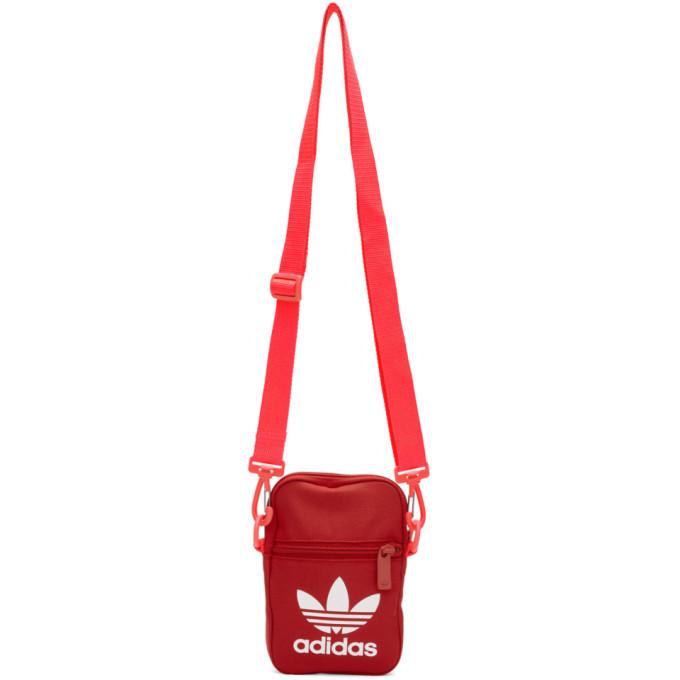 Photo: adidas Originals Red Trefoil Festival Bag