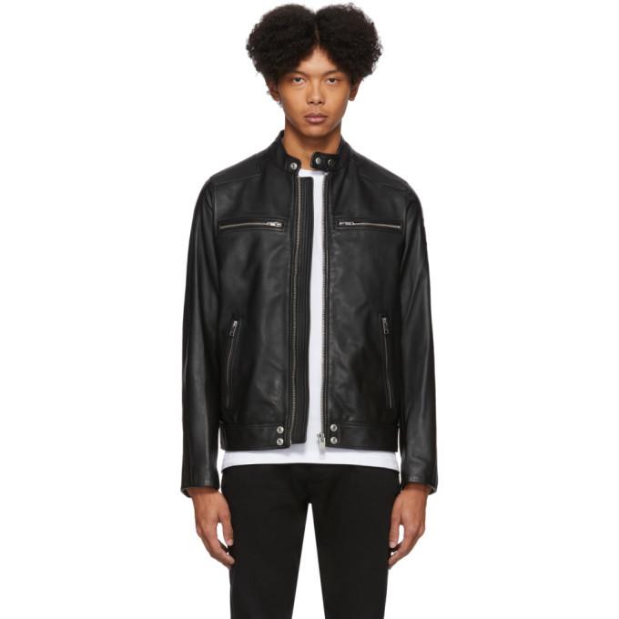 Photo: Diesel Black Leather L-Boy Jacket