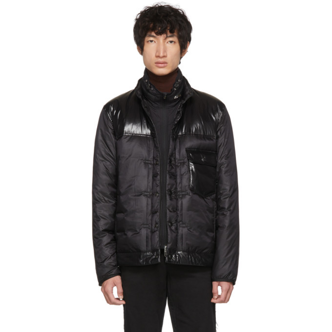 Photo: Moncler Genius 7 Moncler Fragment Hiroshi Fujiwara Black Down Jacket