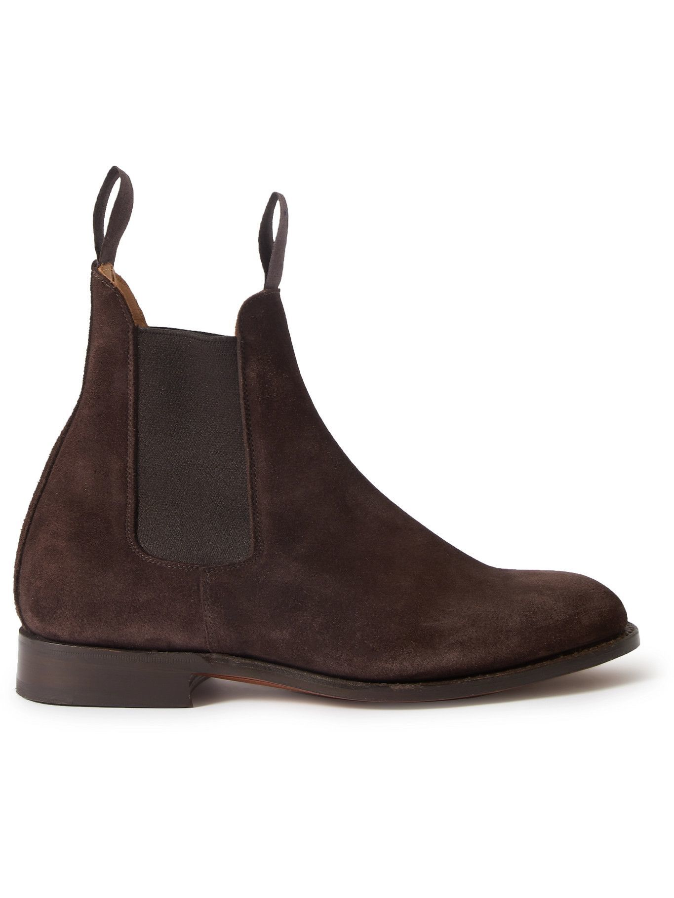 Photo: Tricker's - Gigio Suede Chelsea Boots - Brown