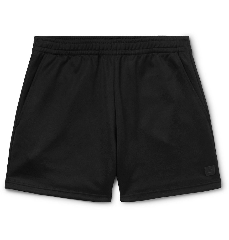 Photo: Acne Studios - Tech-Jersey Shorts - Black