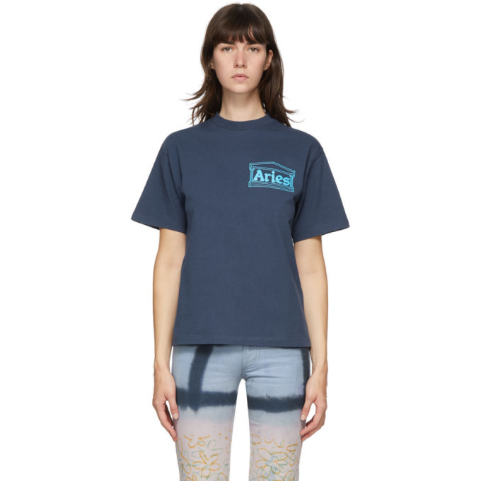 Photo: Aries Blue Temple T-Shirt