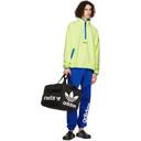 adidas Originals Yellow Polar Fleece Adventure Half-Zip Sweatshirt