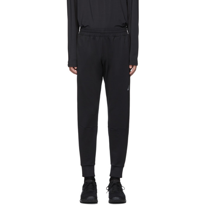 Asics Black Thermopolis Jogger Lounge Pants