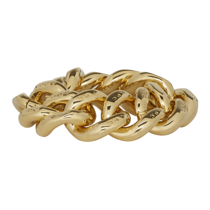 Photo: A.P.C. Gold Gravure Ring
