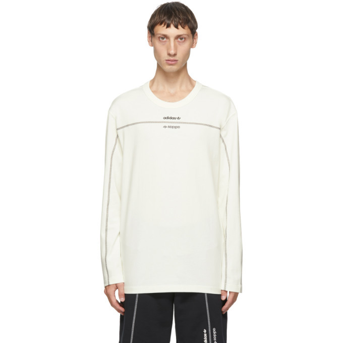 Photo: adidas Originals Off-White Crew Long Sleeve T-Shirt