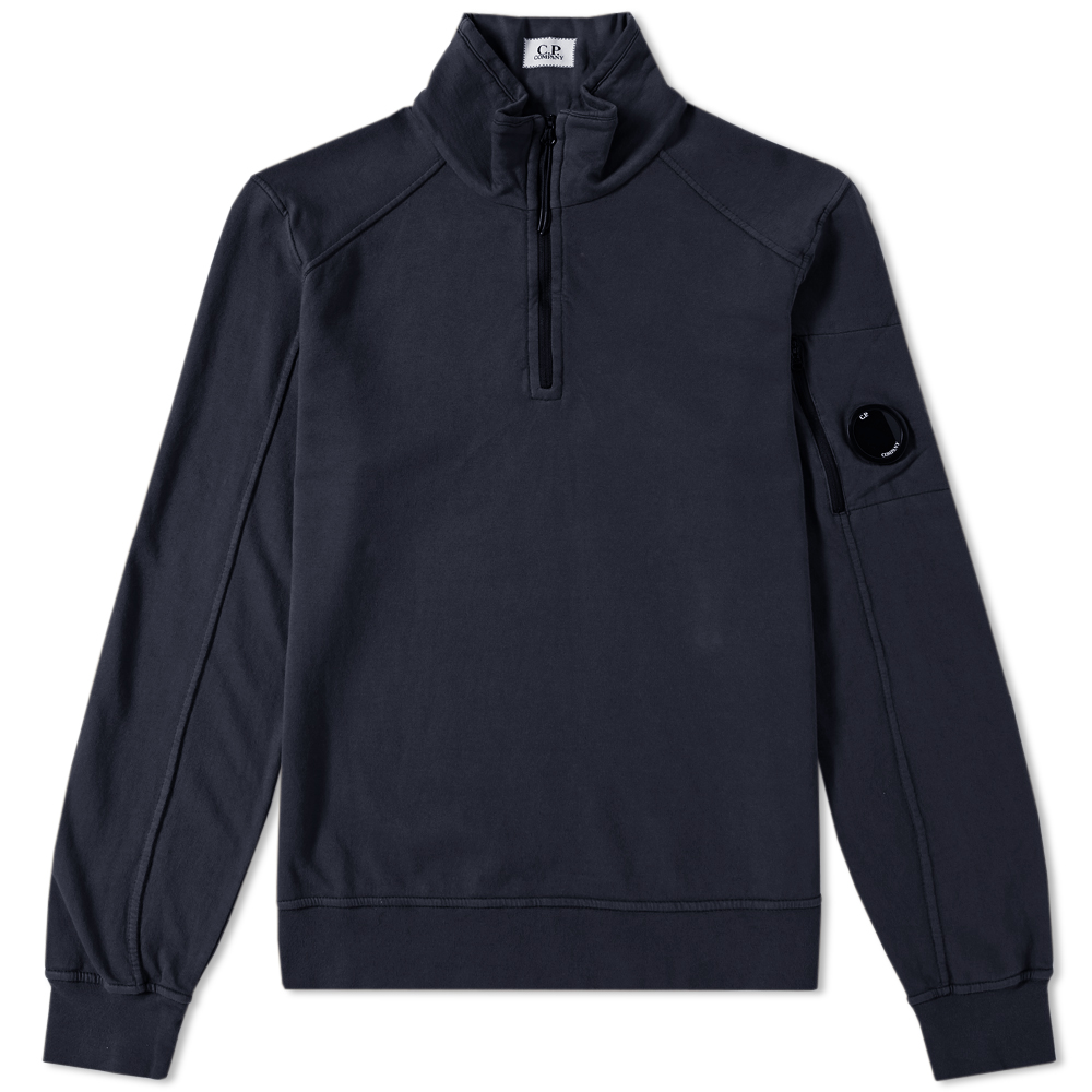 C.P. Company Arm Lens Quarter Zip Sweat