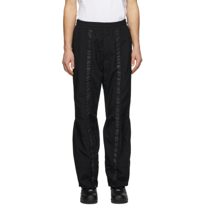 Photo: Diesel Red Tag Black A-Cold-Wall* Edition Drawcord Lounge Pants