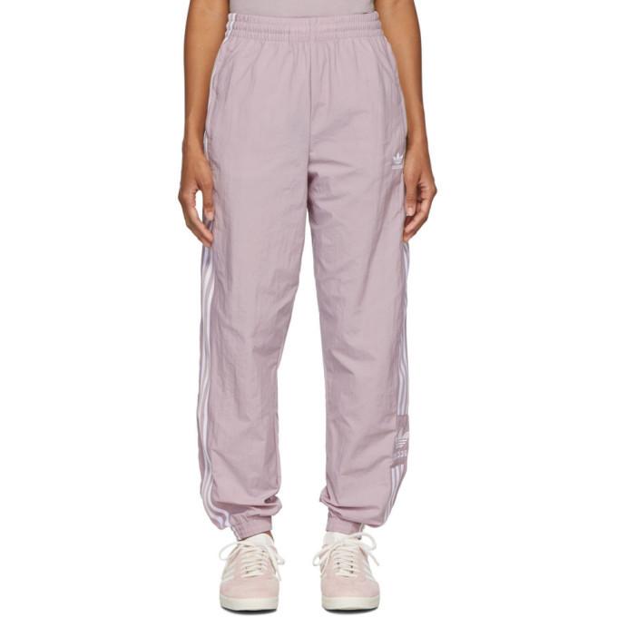 adidas Originals Purple Lock Up Lounge Pants