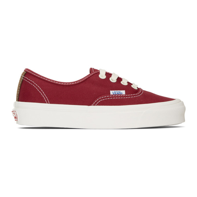 Photo: Vans Red OG Authentic LX Sneakers