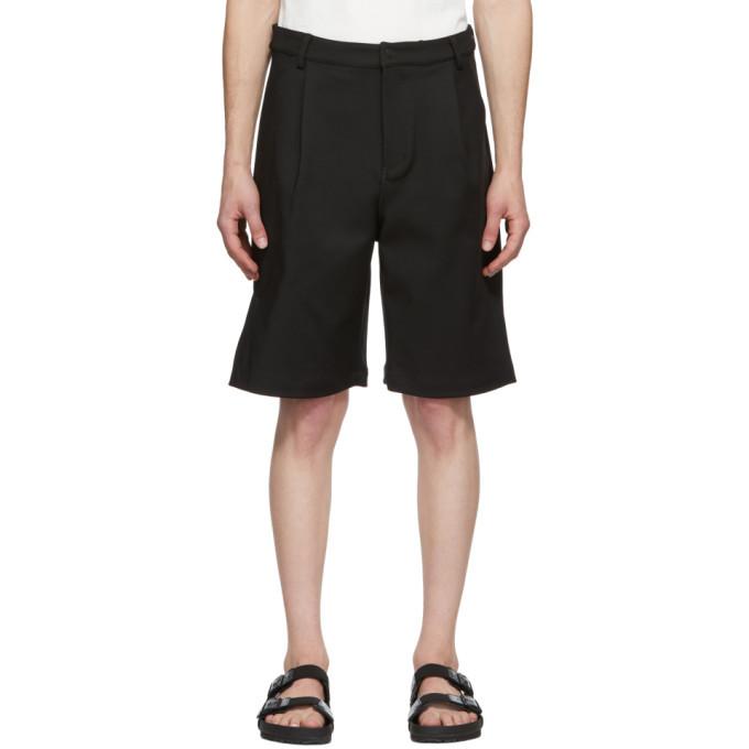 Photo: Dion Lee Black Cotton Shorts