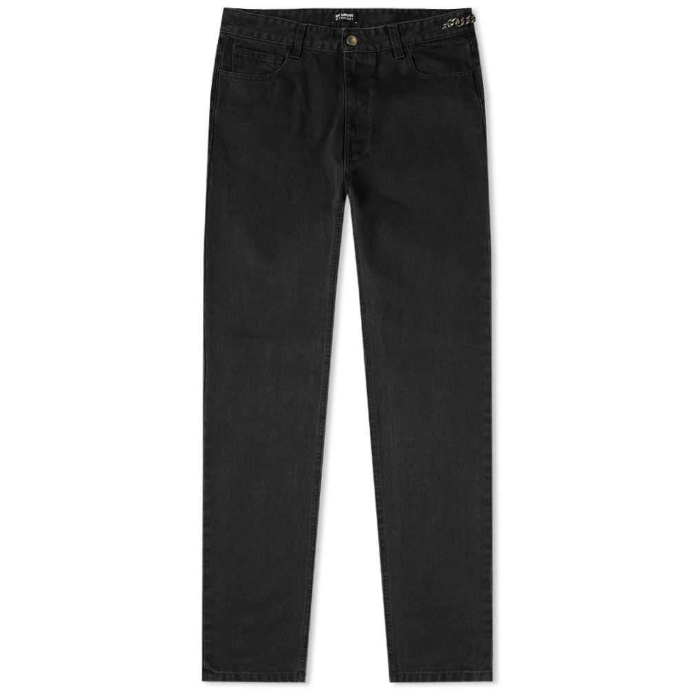 Raf Simons Slim Fit Washed Jean