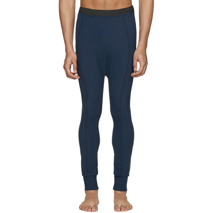 Photo: 11 by Boris Bidjan Saberi Navy Reflective Leggings