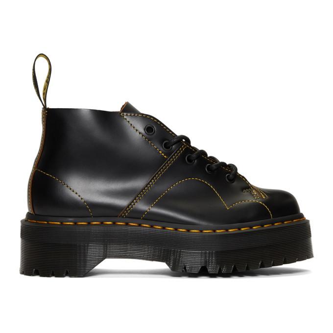 Photo: Dr. Martens Black Church Quad Boots