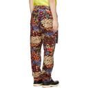 Sacai Multicolor Floral Print Trousers